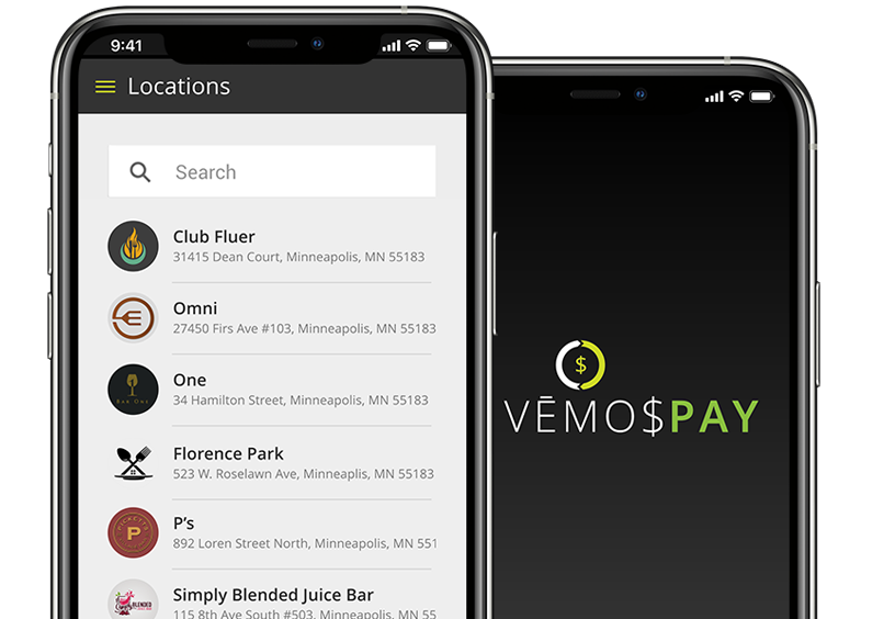 Vemos Pay Contactless Payments